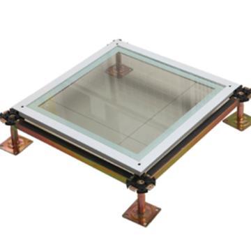 思蕊钢化玻璃地板,600*600*12mm