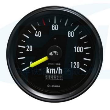 庆丰 单针速度表(带里程),ZLZ3/8系列-120Km(单针带里程)