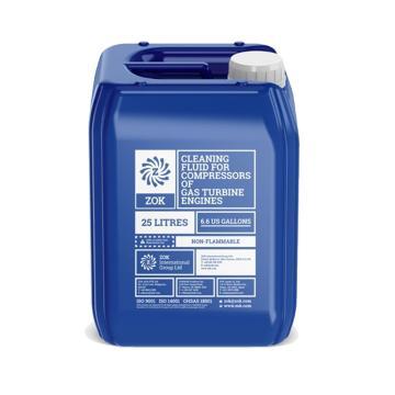 ZOK 工業清洗劑,ZOK27,燃氣輪機水洗劑,25L/桶