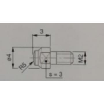 TESA 球形测量头(附带检测证书),3510103 R5