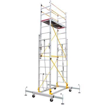 瑞居 拉伸脚手架,额载(kg):230 平台高度(cm):330 外观尺寸(cm):180*190*410,RJ-ALUM-T3.3