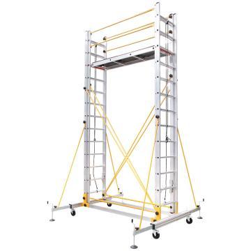 瑞居 拉伸脚手架,额载(kg):230 平台高度(cm):610 外观尺寸(cm):220*210*680,RJ-ALUM-T6.1