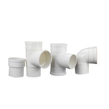 PVC排水管直通110#,直通