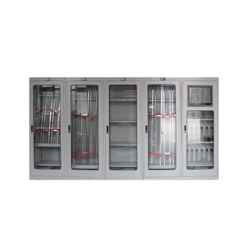 華泰 HT-007 大屏全智能電力安全工器具柜 2000*800*450mm 1mm厚 智能除濕(套:1托4,共5臺)