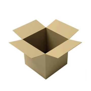 西域推荐 AB楞五层瓦楞空白纸箱,59.5*54.9*33cm(内径)