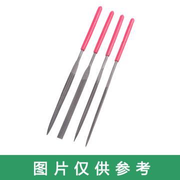 双剑 什锦锉,平板 Ф4