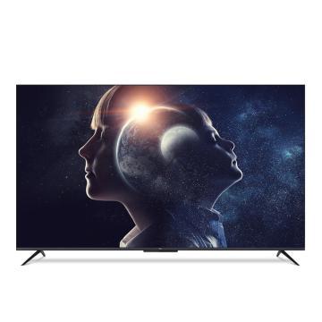 TCL电视机,55D8 55英寸 4K超高清全面屏防蓝光彩电 人工智能语音网络液晶电视机 黑色 包安装