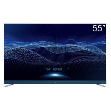 TCL电视机,55C68 55英寸大屏前置音响 4K超高清全面屏37核AI远场语音 防蓝光 智能网络液晶超薄电视