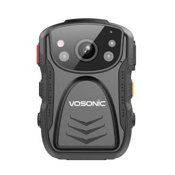 群華(vosonic)D5專業級執法記錄儀,高清紅外夜視便攜式現場記錄128G 單位:個