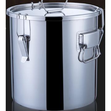 西域推荐 不锈钢密封桶,20L 30*30 单位:个