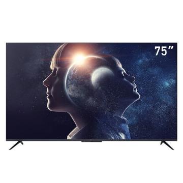 TCL电视机,75D8 75英寸智能4K高清全面屏防蓝光人工智能语音教育彩电 包安装