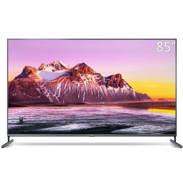TCL电视机,85X6C 85寸大屏4K超高清高色域高低音私人影院AI人工智能网络平板电视巨幕 包安装