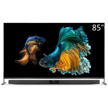 TCL电视机,85X9 85寸 8K超高清IMAX量子点 多分区背光 独立音响 157%超高色域 4+32G大内存 包安装