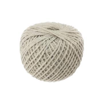 安赛瑞 棉线绳,本白色,φ1.5mm,约100g/卷(5个装)