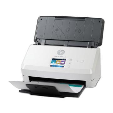 惠普(HP) 饋紙式掃描儀,雙面掃描 ADF進紙器 支持有線網絡 wifi無線直連 SJ Pro 4000 snw1