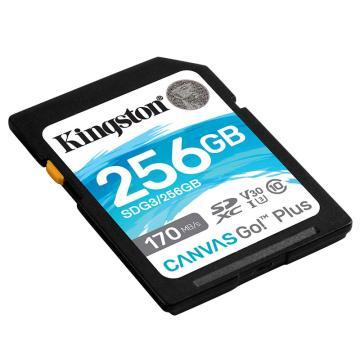 金士頓存儲卡,SDG3 256GB U3 V30 SD卡 極速版 讀速170MB/s 寫速90MB/s 4K超高清視頻 終身保固