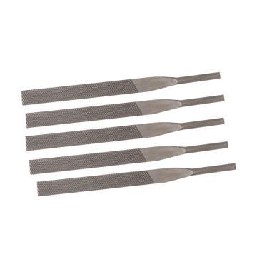 信工 氣銼專用銼刀,5*125氣動平扁粗齒(5支/包)
