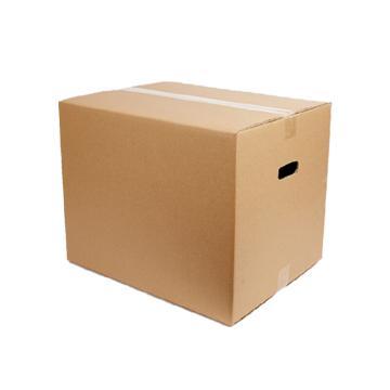 安賽瑞 搬家紙箱,特硬五層瓦楞紙,80×50×60cm,有扣手(5個裝)