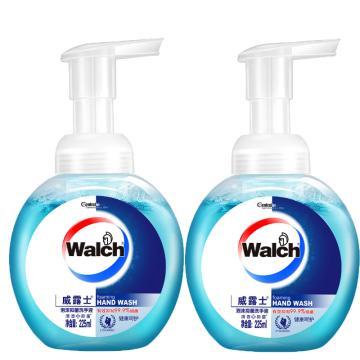 威露士 泡沫抑菌洗手液,健康呵護兩支裝 225ml*2 單位:組