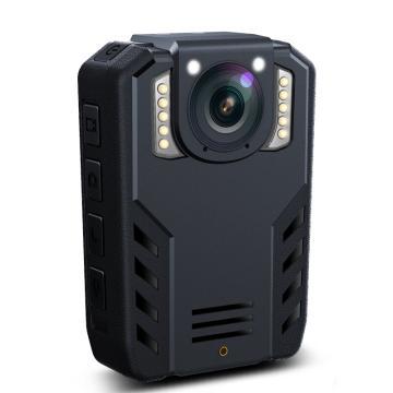 普法眼執法記錄儀,DSJ-PF5 3400萬相素高清紅外夜視WIFI可連接手機攝像影機配吸盤支架 黑 內置64G