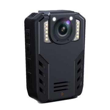 普法眼執法記錄儀,DSJ-PF5 3400萬相素高清紅外夜視WIFI可連接手機攝像影機配吸盤支架 黑 內置128G