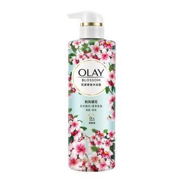 玉蘭油 沐浴露,花漾香氛和風櫻花 550g 單位:瓶