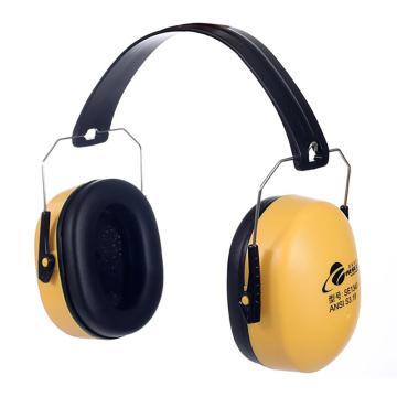 羿科 防噪音耳罩,黃色,60301902