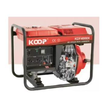 科普 电启动单相柴油发电机,KDF4000XE