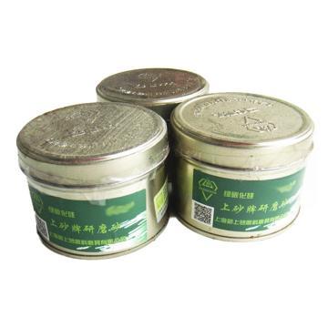 上砂牌研磨膏,120#,罐装,绿色碳化硅