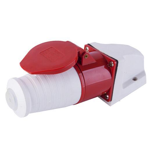 上丰SFE 防水工业插头,025+125明装插座套装5芯32A