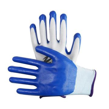 涂胶涂层手套,蓝色,12双/包