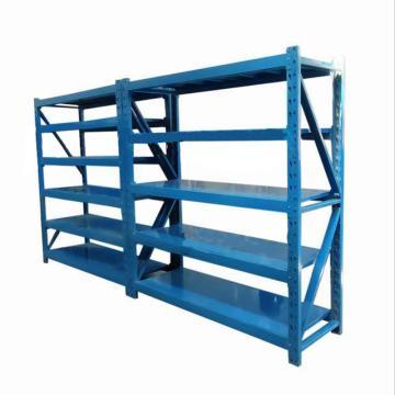 捷虎 中型挂梁式货架,一主架加一副架,5层板,均匀承重500kg/层,尺寸:1800*600*2000mm