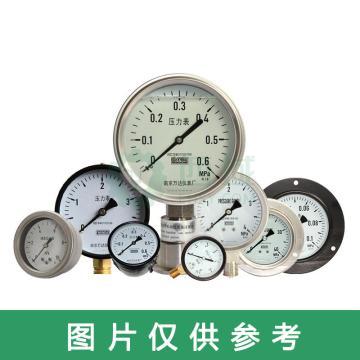 萬達/WANDA 耐震壓力表YJTN,碳鋼+銅,軸向不帶邊Φ60,精度2.5級,0~10MPa,NPT1/4,充甘油