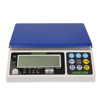 杰特沃 定制电子计重秤,3kg,最小感量0.1g;加卡,加UK加长1.8米数据线