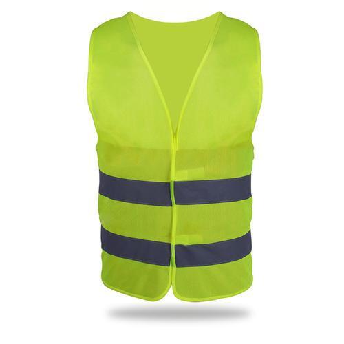 反光衣、双条荧光黄