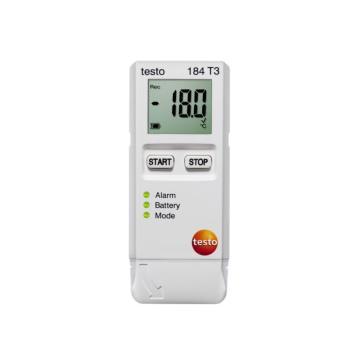 德图/Testo USB型温度记录仪(连续监测),testo 184 T3 订货号 0572 1843
