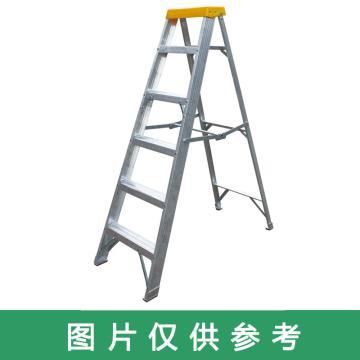 金錨 鋁合金單側梯,踏板數:6 額定載荷(KG):150 工作高度(米):1.88,AO21-106
