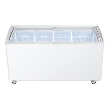 海尔 玻璃门商用冷冻柜,SD-519C商流