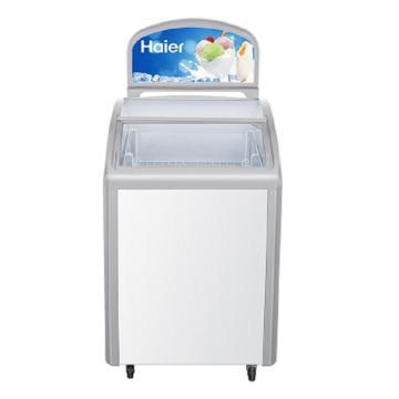 海尔 玻璃门商用冷冻柜,SD-162DL常规A
