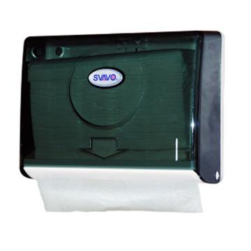 瑞沃 擦手紙盒,壁掛式免打孔 v-620 273*97*203mm 單位:個