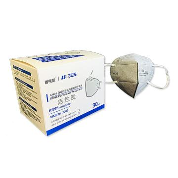 耐唄斯 活性炭防護口罩,防塵及有機氣體口罩,KN95 耳帶式,NBS9501C,30個/盒