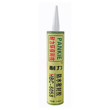 耐力 防水密封膠,HBC-6058,白色,300ml/支