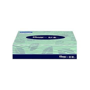 金佰利 舒潔長方扁盒裝面紙,80抽 2層0228-30,200*194mm 72盒/箱 單位:箱
