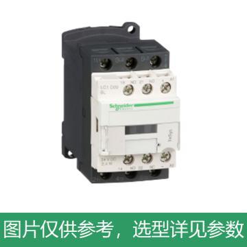 施耐德Schneider TeSys D系列三极接触器,9A,24VDC,低功耗,LC1D09BL