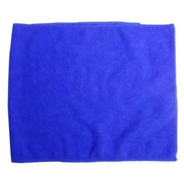 奇正 加厚纖維抹布,30*70cm 藍/棕 隨機色發貨 單位:塊
