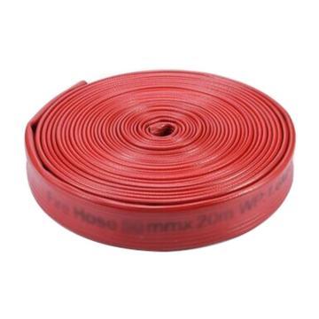 沱雨 丁腈橡胶双面胶水带,口径65mm,工作压力1.6,长度20m(不带接口)