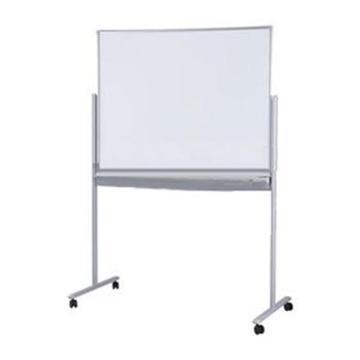 日學 雙面回轉腳架式白板,900*1500mm 含支架 單位:套