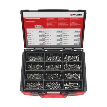 伍爾特WURTH,5964009600,六角頭螺栓-SET-ISO4017-A2-685PCS-SYSKO