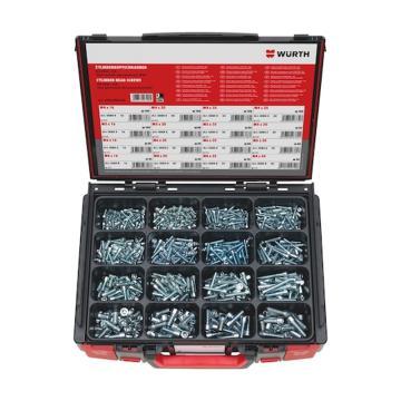 伍爾特WURTH,5964008400,內六角螺釘SORT-ISO4762-8.8-(A2K)-960PCS-SYSKO