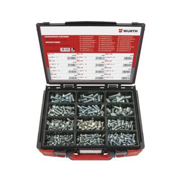 伍爾特WURTH,5964005700,外六角螺栓組套-ISO4017-8.8-(A2K)-685件-SYSKO